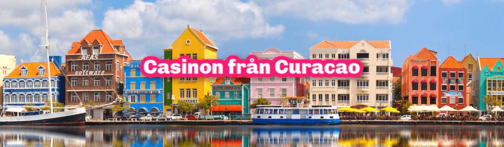 casinon med licens från Curacao