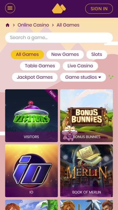 Mount-Gold-Casino-cashback-recension Starwarscasinos