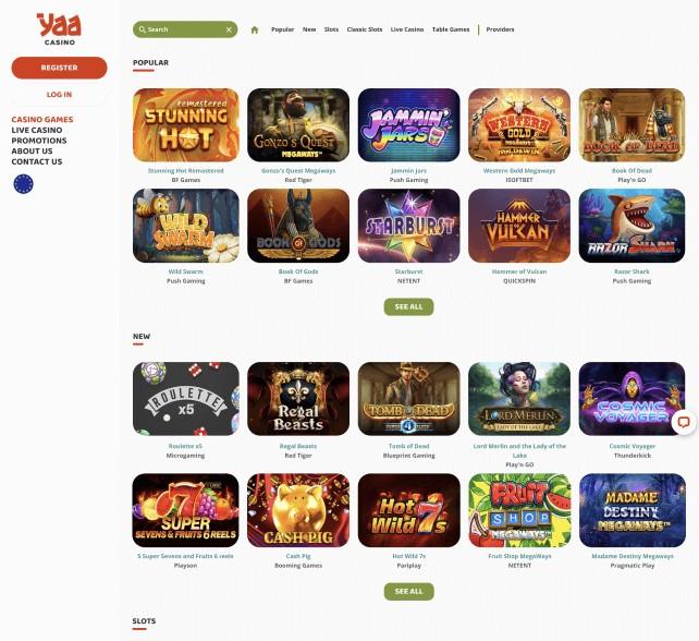 Yaa Casino slots