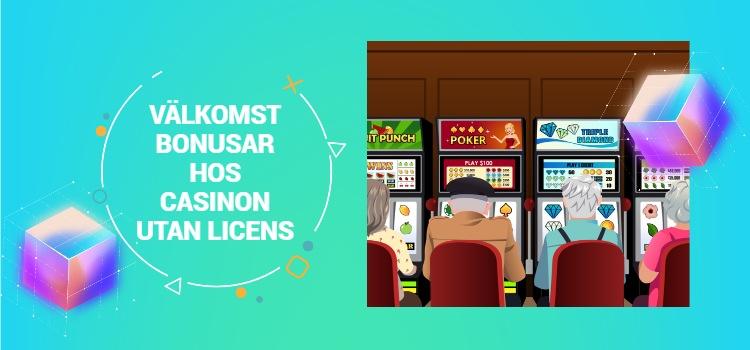 casinon utan licens